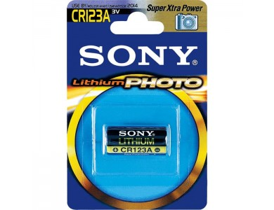 Купить в Алматы батарейки Sony CR123A