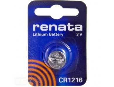 Купить в Алматы батарейки Renata CR1216