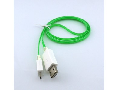 Купить кабель USB(m) - micro USB(m) 1м. (Light) с подсветкой
