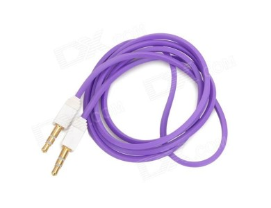 Кабель Audio(m) 3.5mm - Audio(m) 3.5mm, 1м (AUX-кабель - 1м)