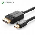 Кабель mini DisplayPort(m) - DisplayPort(m), 1.5m (UGREEN)