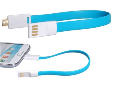Купить кабель USB(m) - micro USB(m) 22см. (Magnetic)