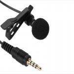 Внешний микрофон для экшн-камеры GoPro Hero 3/3+/4 (Петличка)