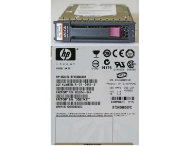 Купить в Алматы жесткий диск для сервера HP 450ГБ (BF450DA483)