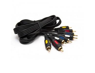 Кабель 4RCA(m) - 4RCA(m) компонентный аудиовидеокабель 2m.
