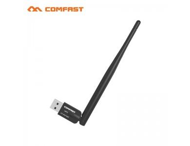Wi-Fi Беспроводной сетевой адаптер COMFAST USB 2.0 300Mbps в Алматы.