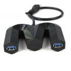 USB 3.0 хаб 4 порта высокоскоростной без переключателя