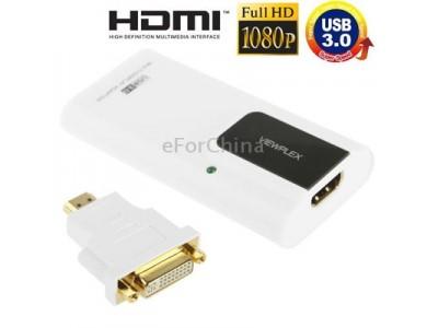 Купить в Алматы USB Видеокарта (Видеоадаптер USB 3.0 HDMI)