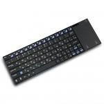 Клавиатура беспроводная Zoweetek Rii i12 (русские буквы) + TouchPad