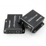 Удлинитель HDMI + USB, KVM Extender (Усилитель HDMI и USB сигнала до 120м.)