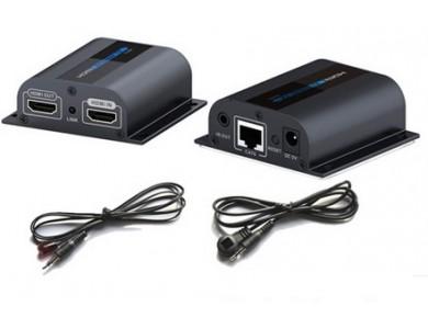 LenKeng LKV372Pro (удлинитель HDMI до 60м с IR и дополнительным выходом HDMI) в Алматы