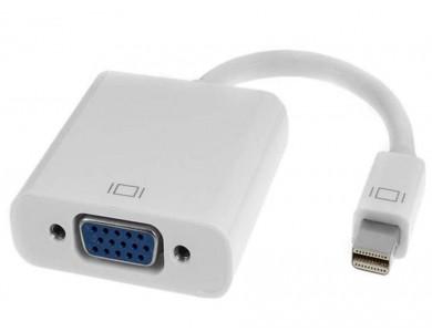 Кабель переходник с Mini DisplayPort на VGA в Алматы