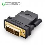 Переходник DVI(m) 24+1 - HDMI(f) UGREEN