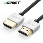 Кабель HDMI версия 2.0, 2m (UGREEN)