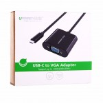 Конвертер USB 3.1(m) Type C на VGA (UGREEN)