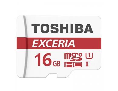 Карта памяти microSDHC Toshiba 16GB (UHS-I, class 10) в Алматы