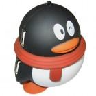 USB хаб, 4 порта в виде Пингвина