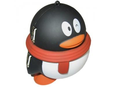 USB хаб, 4 порта в виде Пингвина в Алматы