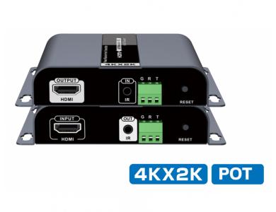 LenKeng LKV683N (удлинитель HDMI по технологии HDbitT до 120м с IR) в Алматы