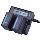 Зарядное устройство + 2 аккумулятора для LKV388 Battеry