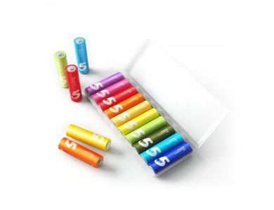 Батарейки, Xiaomi, Rainbow ZI 5 AA (AA501), 1.5V, 10 шт