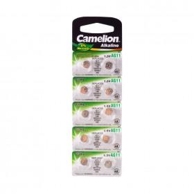 Батарейка CAMELION, AG11/LR58/362, Alkaline, 1.5V, 1шт.