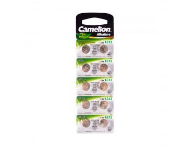 Батарейка CAMELION, AG13/LR44/357, Alkaline, 1.5V, 1шт.