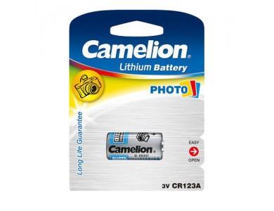 Батарейка Camelion CR123A-BP1 Lithium, 1300mAh 3V