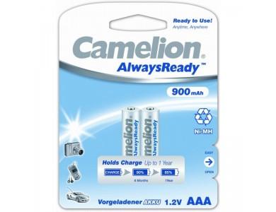 Аккумулятор Camelion, NH-AAA900ARBP2, AAA, 1.2V, 900 mAh, 2 шт.
