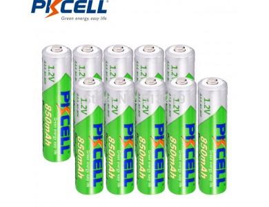 Батарейка Pkcell  AAA, аккумуляторы 850mAh