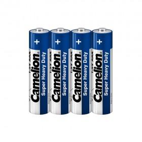 Батарейка CAMELION, R03P-SP4B, Super Heavy Duty, AAA, 1.5V, 550 mAh, 4 шт. в плёнке