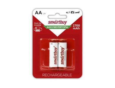 Батарейка Smartbuy AA, аккумуляторы 2700mAh