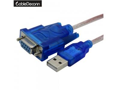 Купить в Алматы кабель / переходник / конвертер с USB на RS232 (Z-TEK)