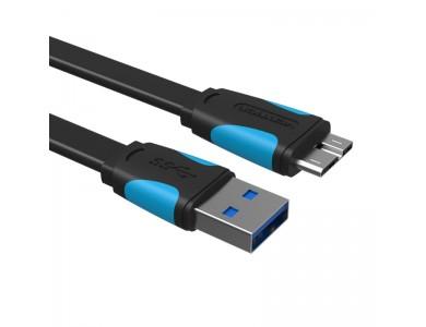 Кабель USB 3.0(m) - micro USB 3.0(m) 0.5m., Vention в Алматы.