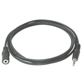 Кабель Audio(m) 3.5mm - Audio(f) 3.5mm, 3м