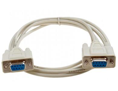 Кабель COM(f) - COM(f) DB9, 1,3 м, последовательный.