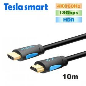 Кабель HDMI 10m, V2.0, TeslaSmart