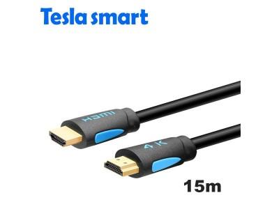 Кабель HDMI 15m, V1.4, TeslaSmart