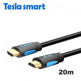 Кабель HDMI 20m, V2.0, TeslaSmart