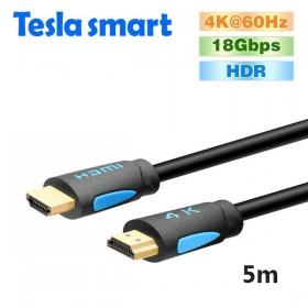 Кабель HDMI 5.0m, V2.0, TeslaSmart