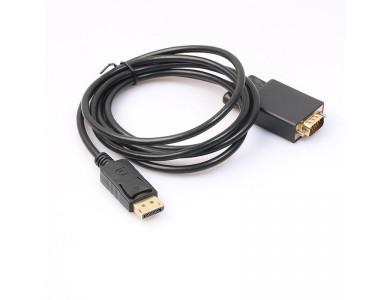 Кабель DisplayPort(m) - VGA(m), 1.8m