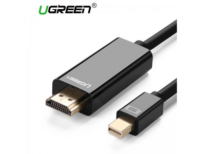 Кабель mini DisplayPort(m) - HDMI(m) UGREEN, 2m