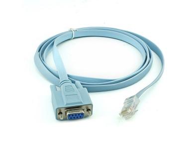 Консольный кабель с RS232 на RJ45