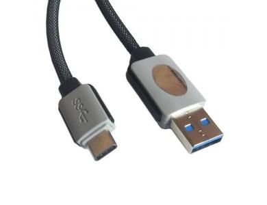 Кабель USB 3.1(m) Type C- USB(f) Type A, 3m