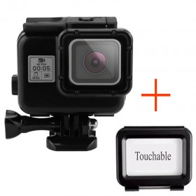 Аквабокс для экшн-камеры GoPro Hero 5/5+ черного цвета