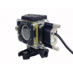 Комплект мотоциклиста (аквабокс + зарядное устройство) для SJCAM SJ5000