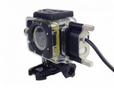 Водонепроницаемый корпус (аквабокс) + зарядное устройство для экшн-камеры SJCAM SJ5000 в Алматы