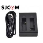Зарядное устройство для двух батареек SJCAM M20
