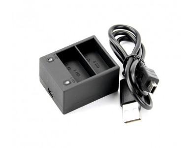 Зарядное устройство для двух батареек GoPro Hero 3/3+