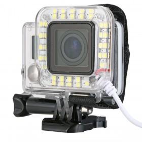 Led подсветка для экшн-камеры GoPro Hero 3/3+/4 / SJCAM / Xiaomi